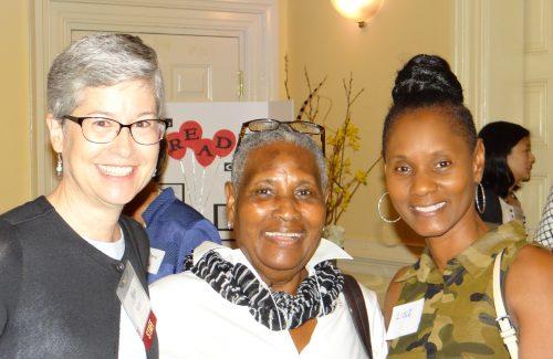 Kay McCall, Hazel Wilks and Lisa.