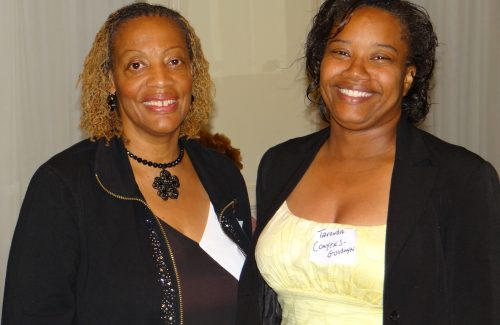 Sharon Miller and Tavonda Conyers-Goodwyn