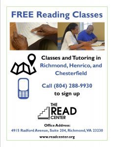 Free Reading Classes at The READ Center