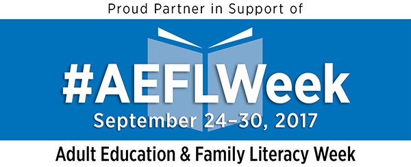 Adult Education and Family Literacy Week 2017