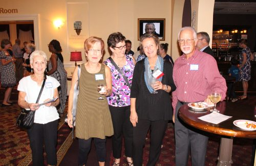 Judy Parker-Falzoi. Michelle Harrington. Linda Earhart. Carolyn and Jack Harsh