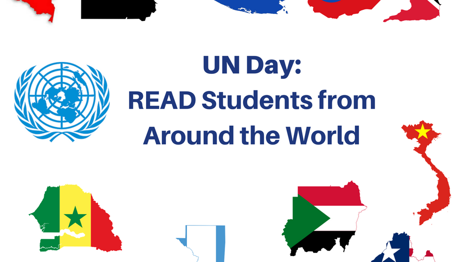 UN Day-READ Students from Around the World