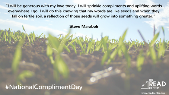Compliment Day at The READ Center