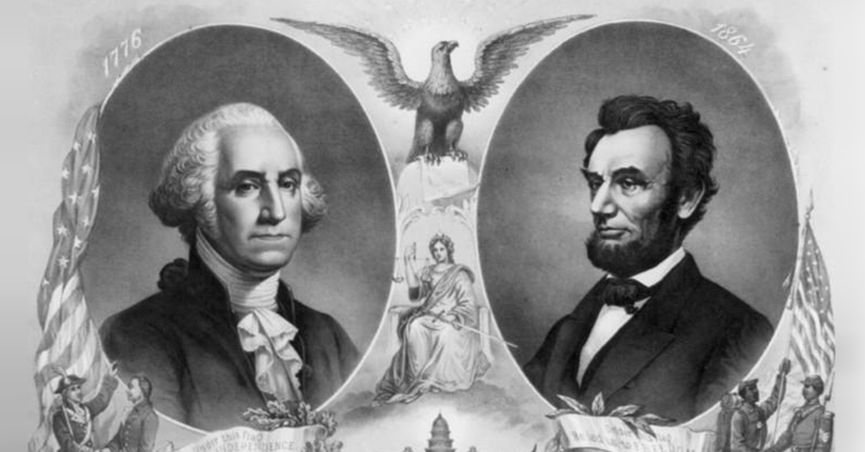 Washington and Lincoln via Snopes.com