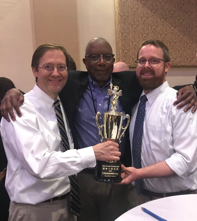 2018 Great Richmond Trivia Bee Champions: Richmond Times-Dispatch